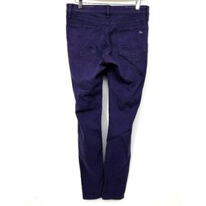 Rag Bone Womens Jeans Purple For Aritzia Leggings